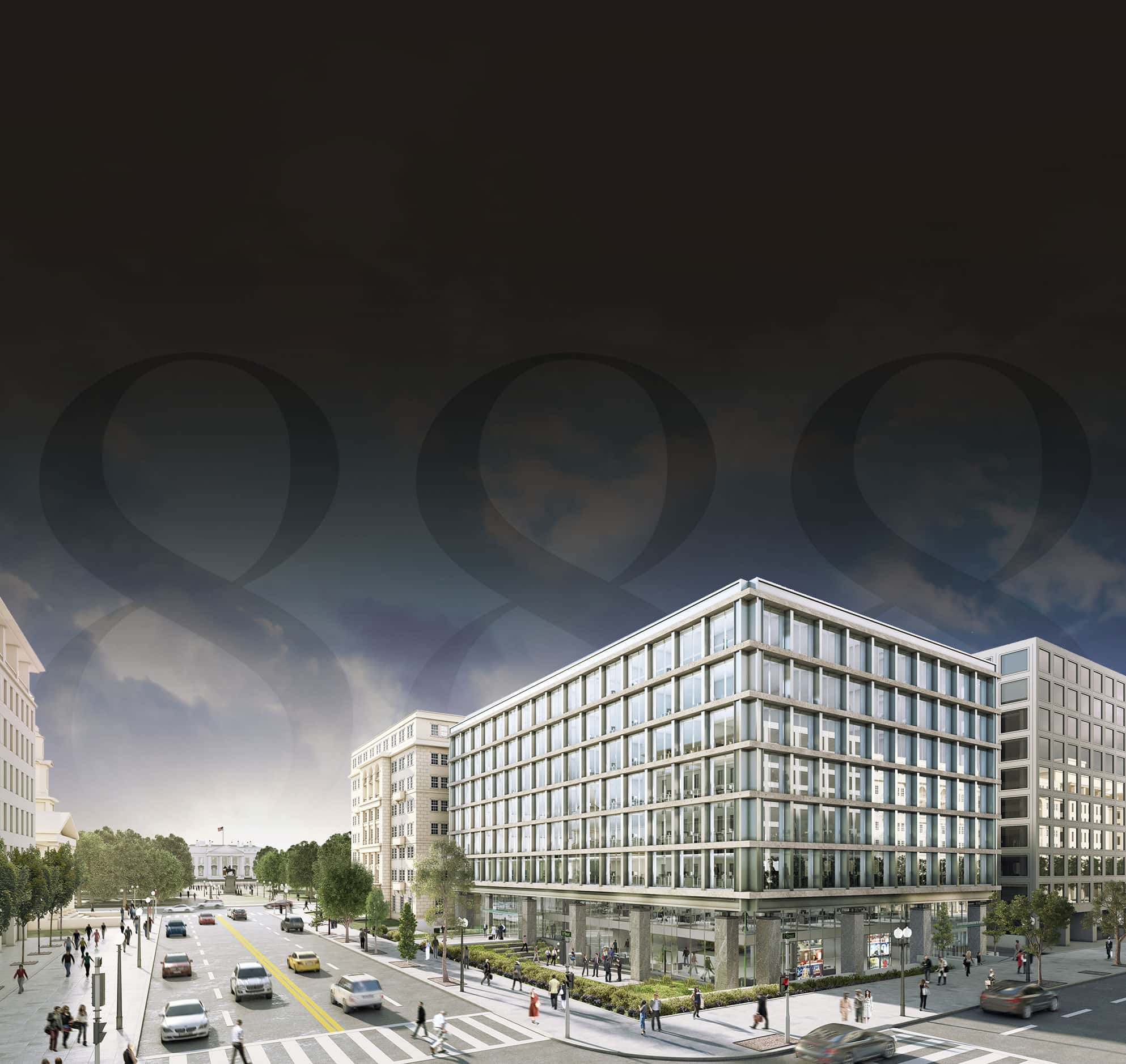 Rendering of 888 Sixteenth Street NW